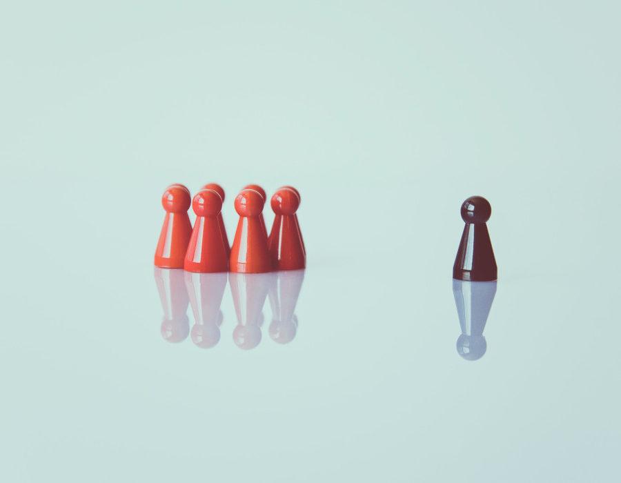 lider prowadzący team