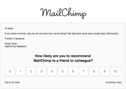 Emoloyee NPS Mailchimp
